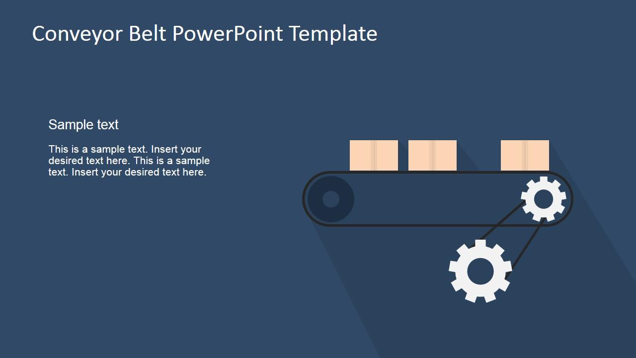 Flat conveyor belt powerpoint template slidemodel toneelgroepblik Image collections