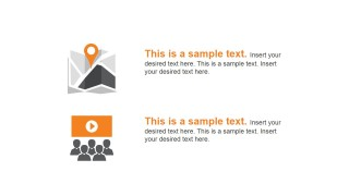 PowerPoint Shapes Featuring Local Marketing