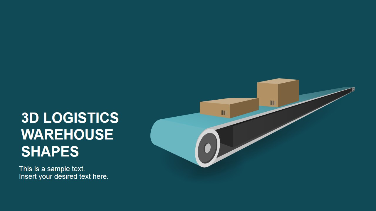 Warehouse powerpoint templates 3d logistics warehouse powerpoint shapes toneelgroepblik