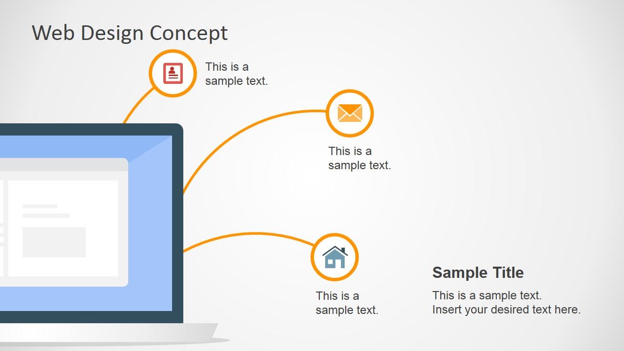 web design concept powerpoint slide slidemodel