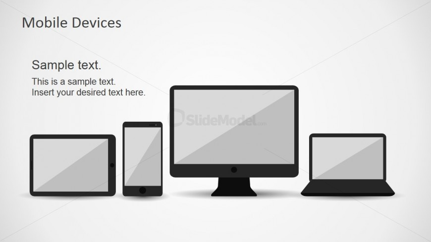 Responsive Devices Picture for PowerPoint