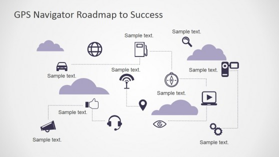 Roadmap PowerPoint Icons