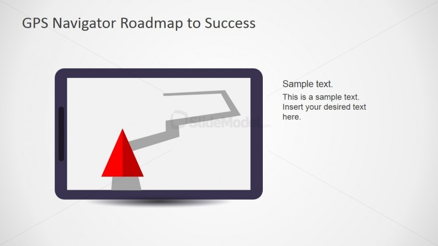 PowerPoint Traffic Navigation Scene