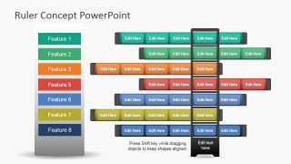 Ruler Concept Template for PowerPoint
