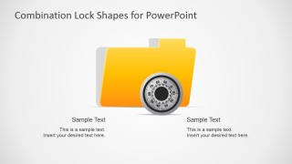 Combination lock shapes for powerpoint slidemodel create brief yet informative presentations about data security using the combination lock shapes for powerpoint these can be used in any type of business toneelgroepblik Choice Image