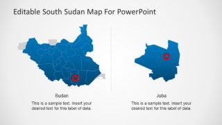 Ble Map of South Sudan