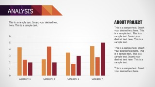 PowerPoint Bar Chart Data Driven Small Business Deck