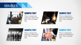 Business PowerPoint Theme Services Design