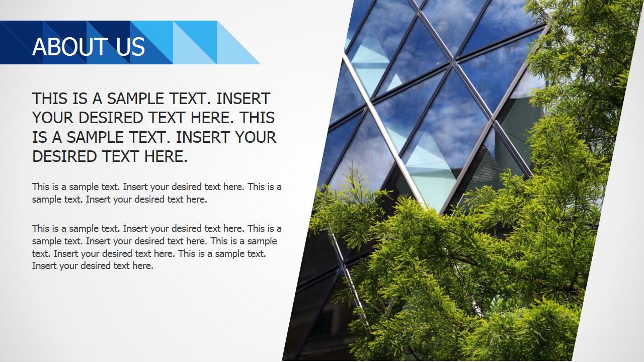 Professional PowerPoint Template Slide Design