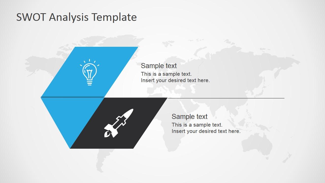 Opportunities & Threats Slide Design for PowerPoint