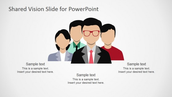 Shared Vision Scenario PowerPoint Shapes