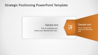 PowerPoint Flat Strategy Quadrants Right Arrow