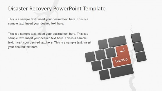 Backup Enter Keyword PowerPoint Shape