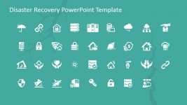 Disaster Recovery PowerPoint Icons