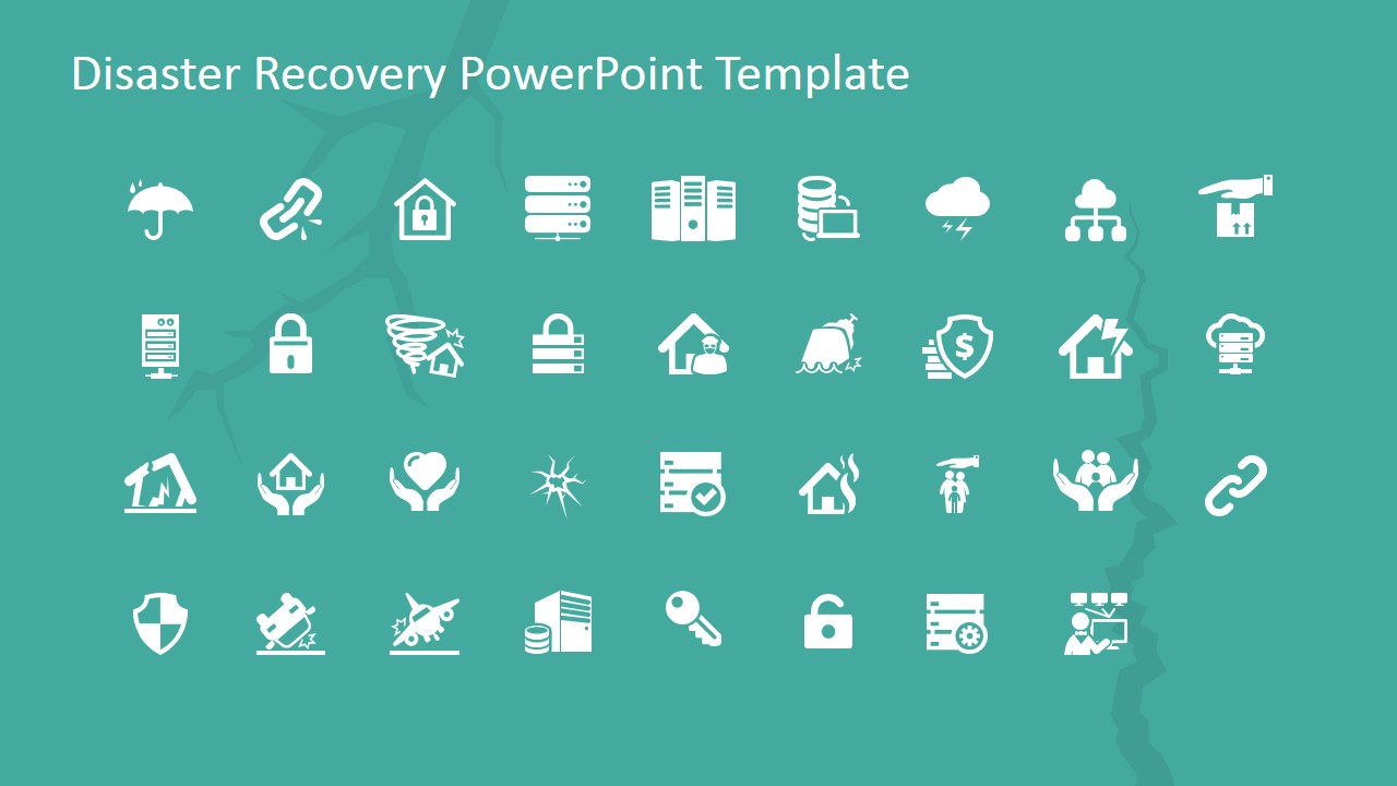 PowerPoint Clipart Featuring Disaster Recovery