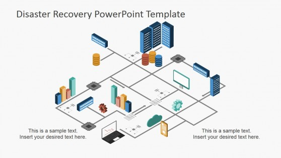 Disaster Recovery Plan PowerPoint Diagram