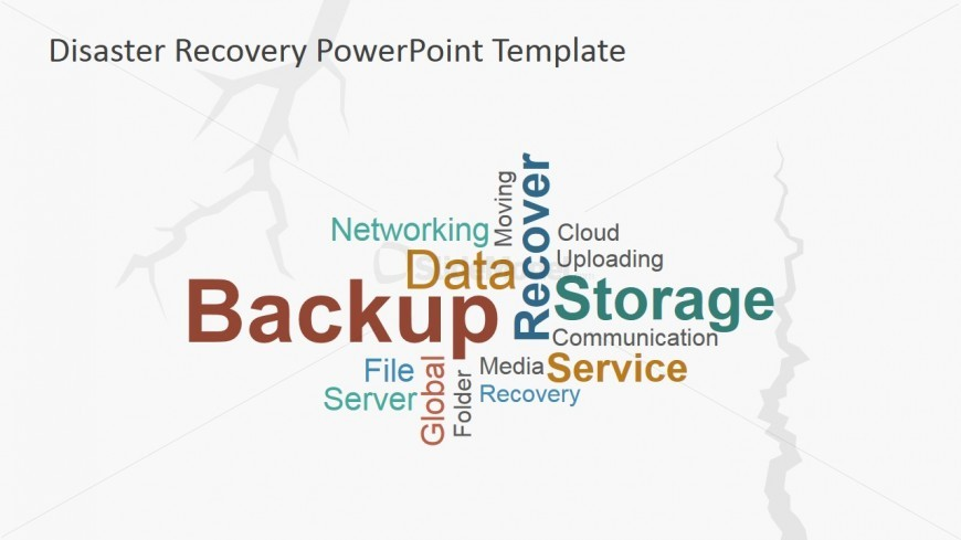PowerPoint Tag Cloud Backup Recover Storage