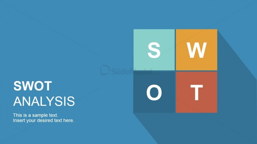 Cover Slide Swot Analysis Template Ppt Slidemodel