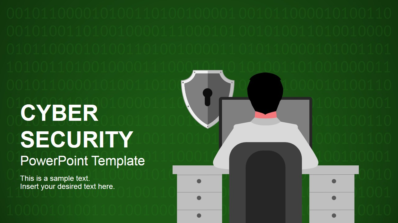 Cyber security powerpoint template slidemodel powerpoint presentation featuring cyber security toneelgroepblik Choice Image