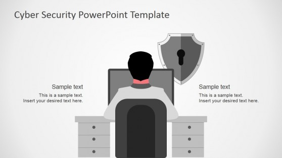 Cyber Vulnerabilities Hacking Theme for PowerPoint