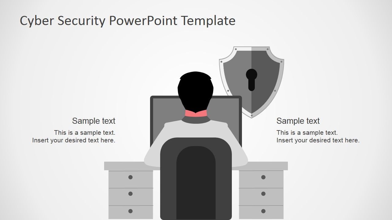 Cyber security powerpoint template slidemodel powerpoint presentation featuring cyber security powerpoint design of computer systems vulnerabilities toneelgroepblik Images