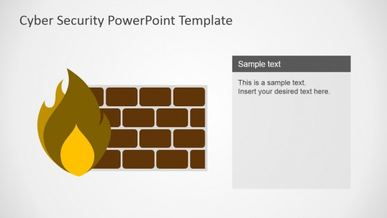 Computer Firewall Shapes for PowerPoint