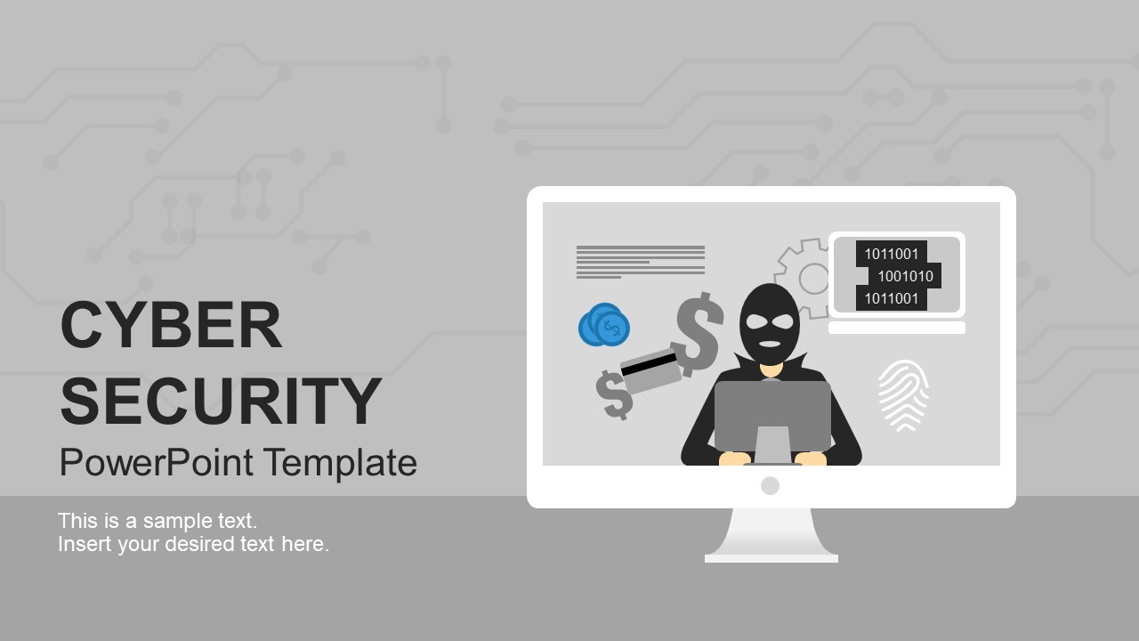 Hacking and Cyber Security Template