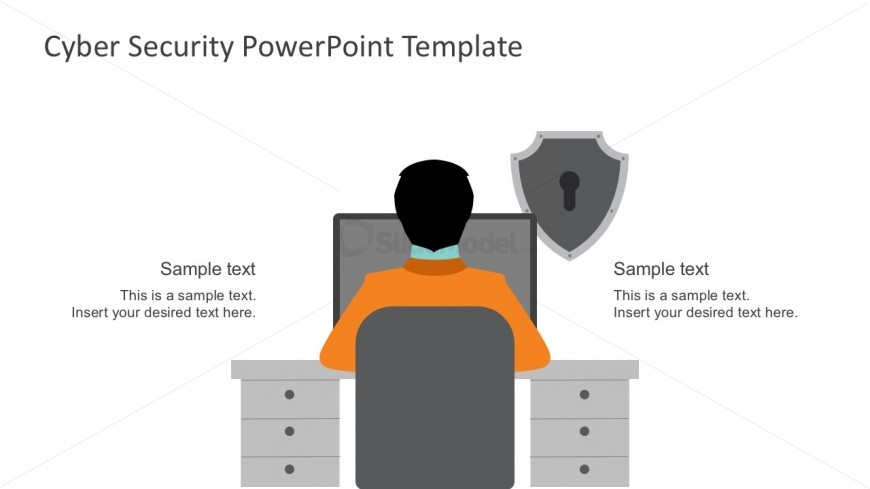Cyber security solution template for powerpoint slidemodel cyber security solution template for powerpoint company it management system graphics toneelgroepblik Images