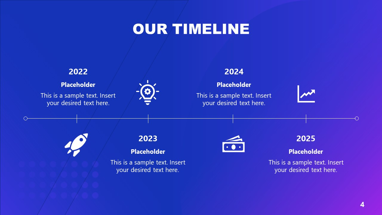 Project Timeline Template Diagram PPT