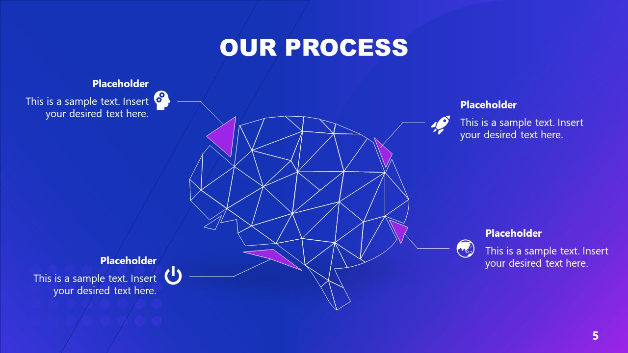 Business PowerPoint Artificial Intelligence Process Template