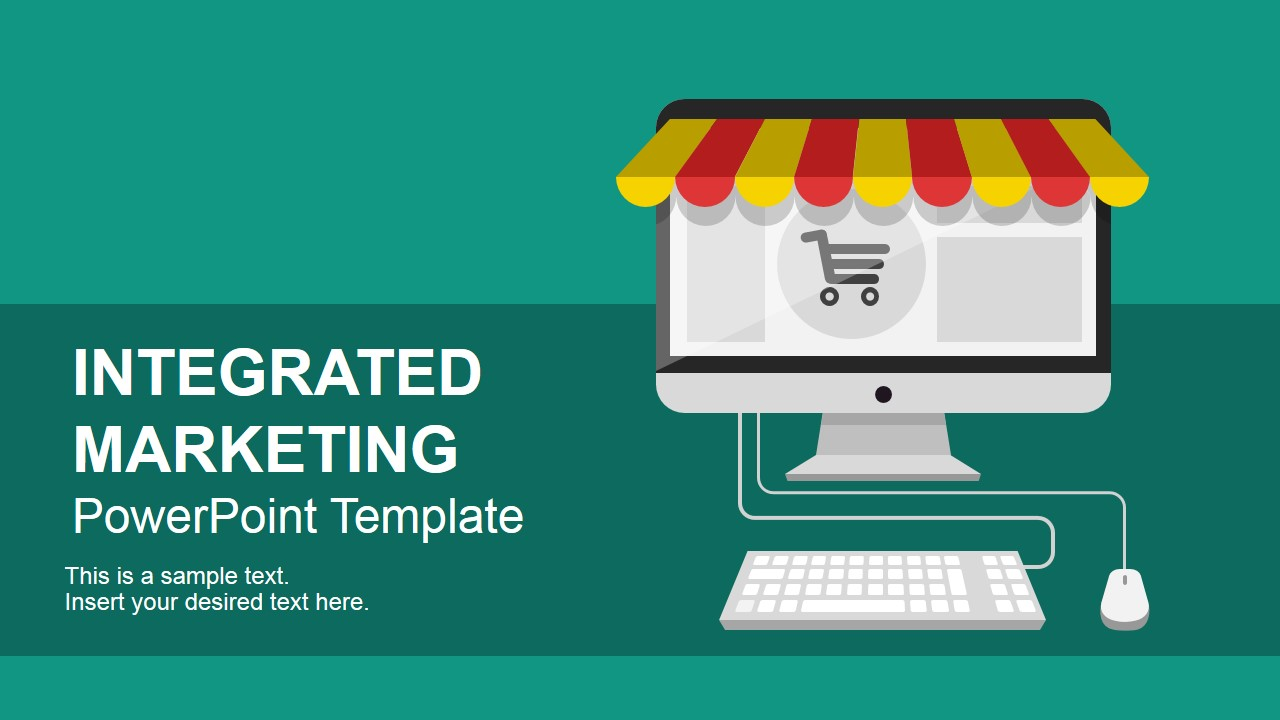 integrated marketing communications powerpoint template - slidemodel, Modern powerpoint