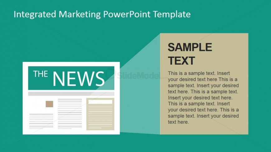 News Traditional Marketing Channel Clipart For Powerpoint  Slidemodel