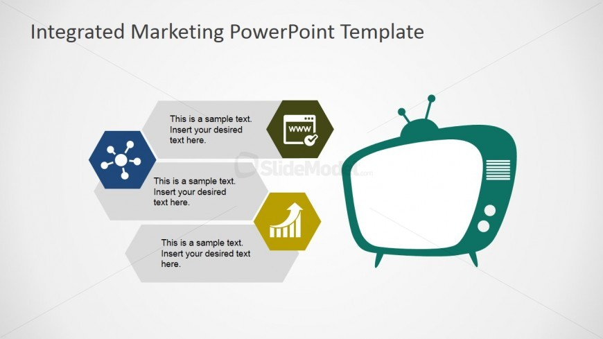 PowerPoint Shapes of Television as Marketing Channel