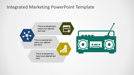 Radio as Marketing Channel Shape for PowerPoint