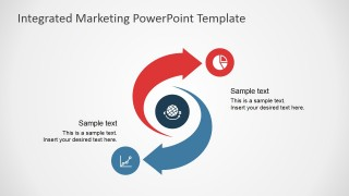PowerPoint Diagram of Integrated Marketing