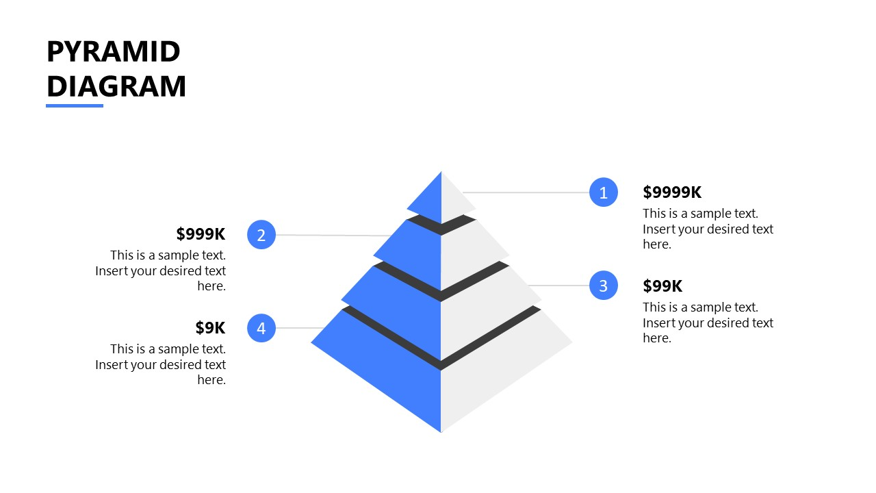 PowerPoint Template for Startup Pyramid Diagram