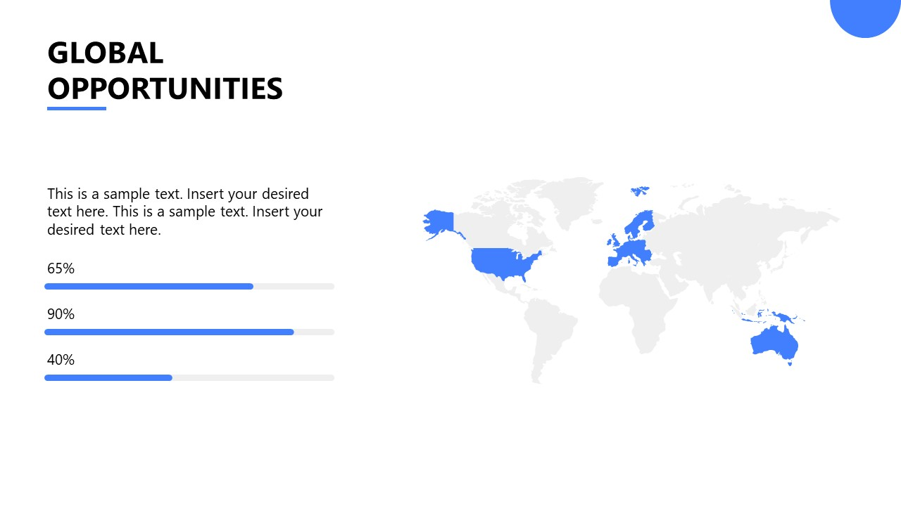 PowerPoint Template for Startup Global Opportunities