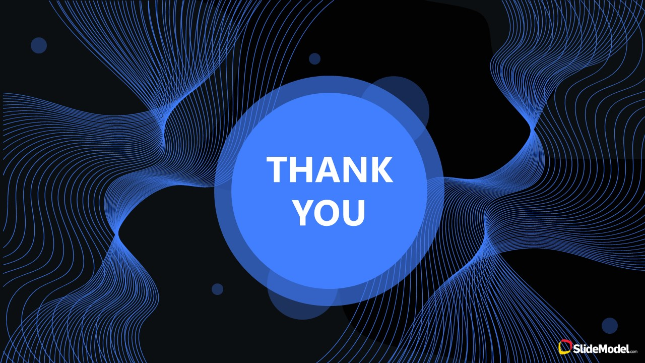 PowerPoint Template for Startup Thank You