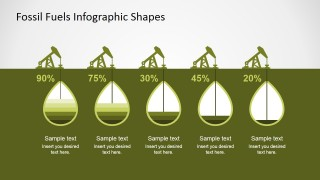 PowerPoint Editable Chart for Oil Extraction