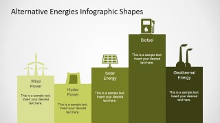 PowerPoint Infographics Featuring Alternative Energies