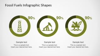 PowerPoint Infographics Donut Charts