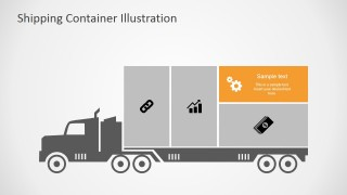 PowerPoint Cargo Infographic Icons