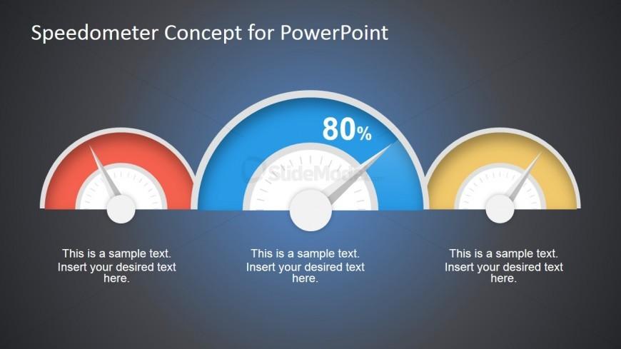 Blur Dashboard Speedometer Concept