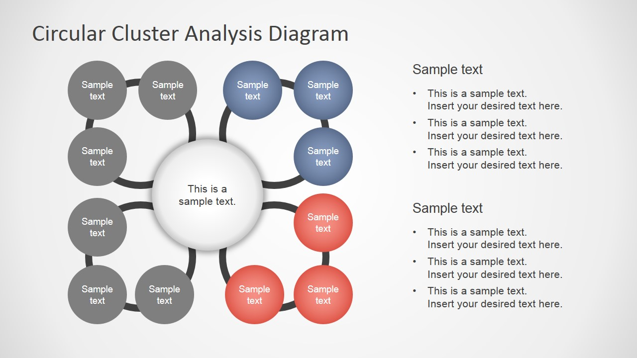 Cluster analysis concept diagram for powerpoint slidemodel cluster analysis concept diagram for powerpoint ccuart Image collections
