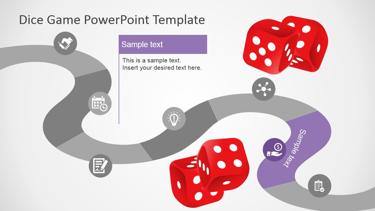 Board game powerpoint template slidemodel powerpoint timeline 7 steps board game design maxwellsz
