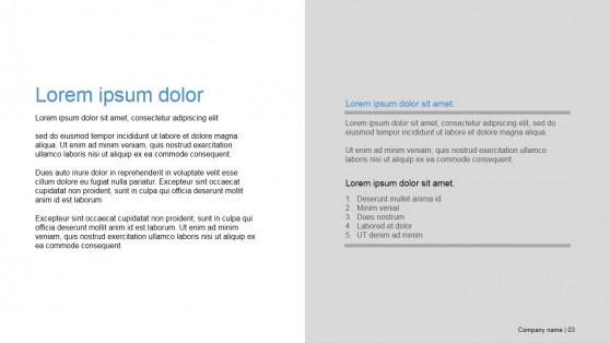 Presentation Template Designed for Business Decks