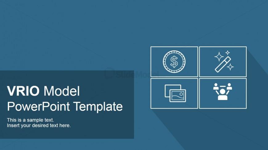 vrio model powerpoint cover slide