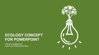 Ecology Concept PowerPoint Template Design