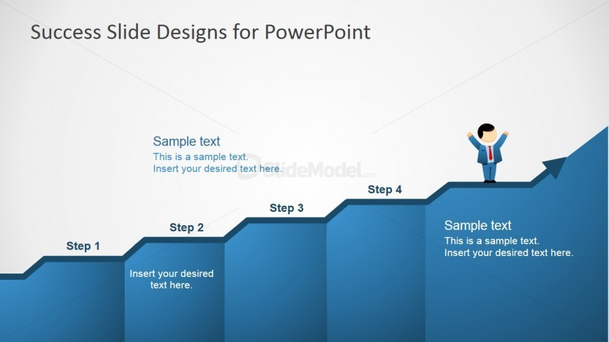PowerPoint Clipart Featuring Success Chart