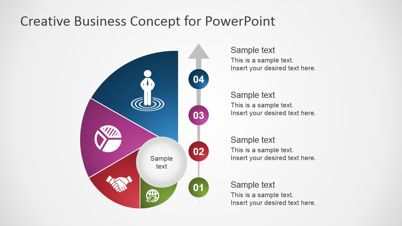 creative business concept for powerpoint - slidemodel, Presentation templates